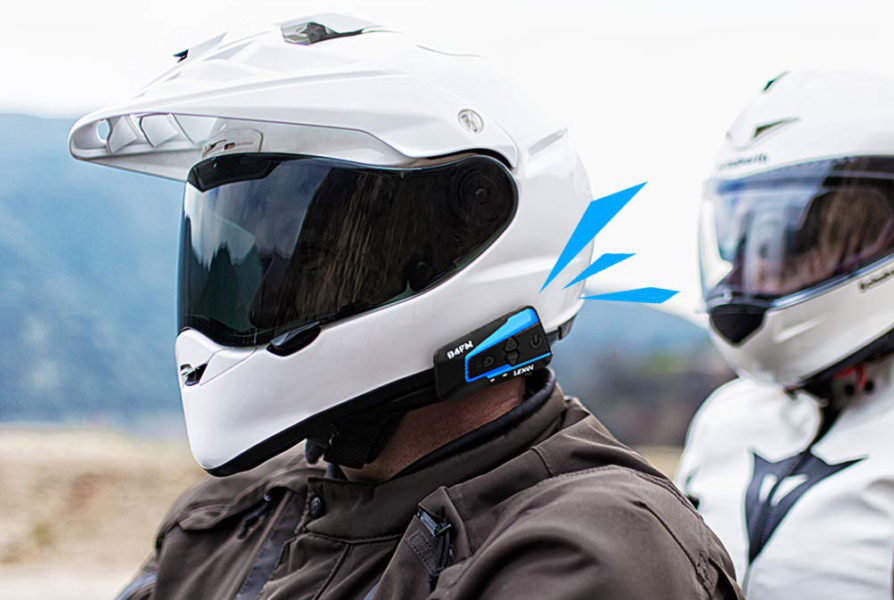 Auricolari bluetooth per moto