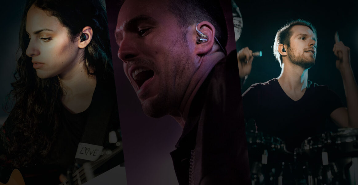 Perché i cantanti usano gli auricolari